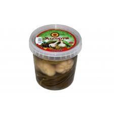 Ассорти из соленый овощей (Перец, чеснок, стебли черемши)