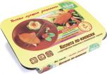 Котлета по-киевски с картофелем жаренным и томатным соусом